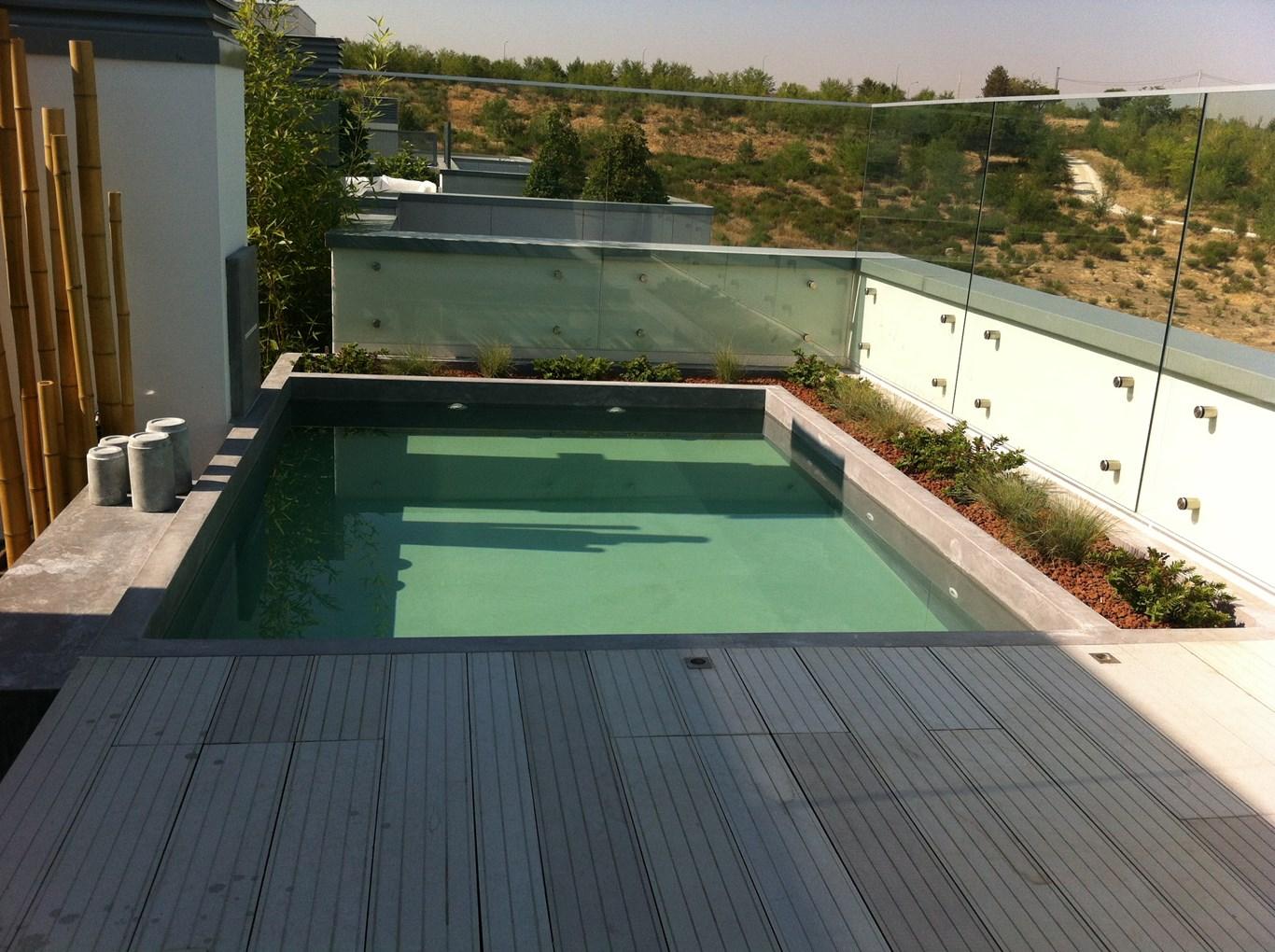 Tico con piscina grupo picavea - Atico con piscina ...
